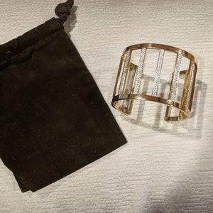 Michael Kors cuff pave bracelet